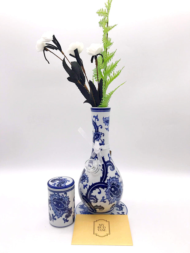 Smoke Station Water Pipe Flowers My Bud Vase™ Joy and Luck Water Pipes