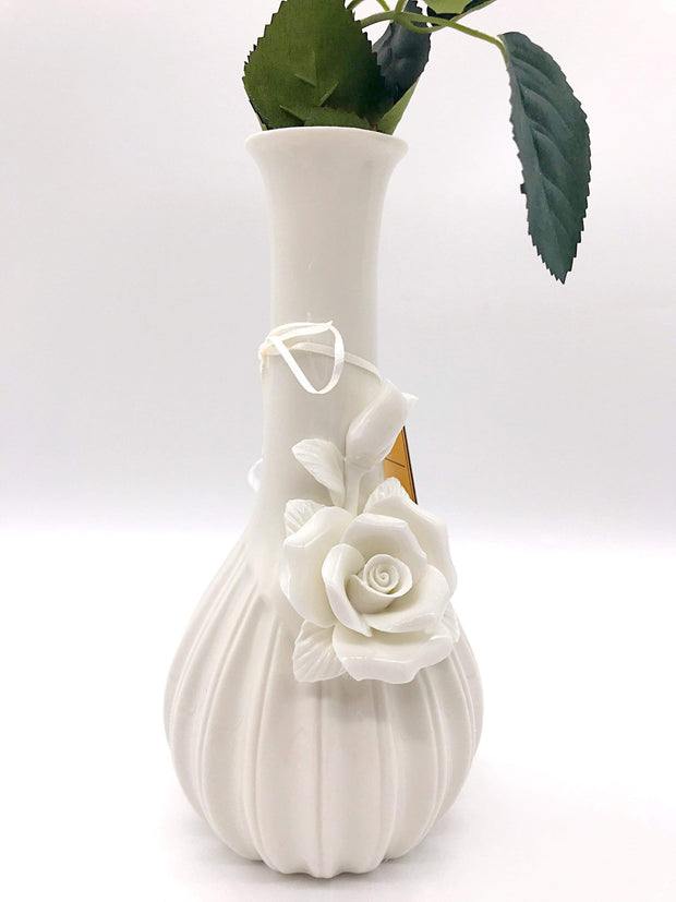 Smoke Station Water Pipe Ivory My Bud Vase™ Rose and Ivory Water Pipes