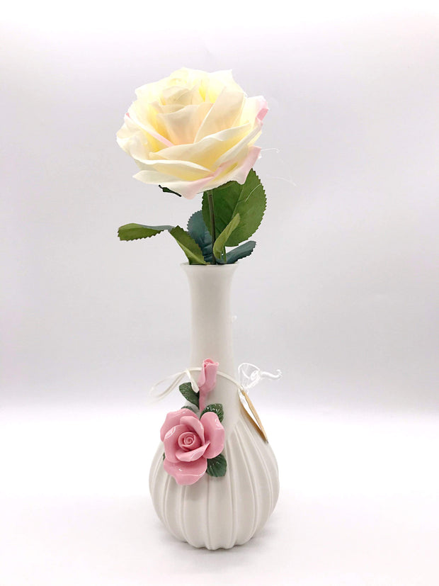 Smoke Station Water Pipe Rose My Bud Vase™ Rose and Ivory Water Pipes