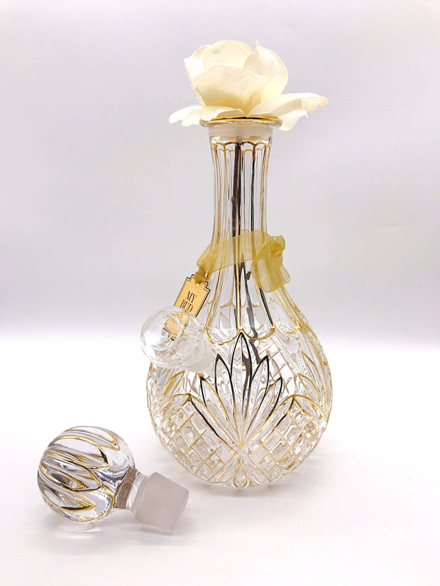 Smoke Station Water Pipe Clear-Cream My Bud Vase™ Stardust Water Pipe