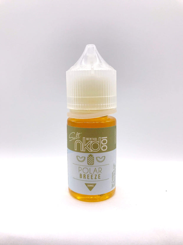 Smoke Station Juice Polar Breeze / 50mg Naked 100 Salt Nicotine E-Juice - 50mg