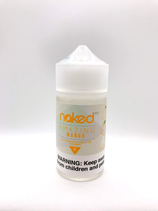 Smoke Station Juice Amazing Mango Naked100 Sub-Ohm E-Juice - 60ml