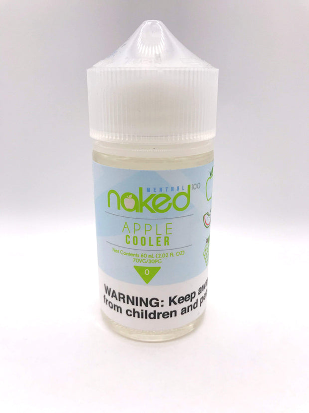 Smoke Station Juice Apple Cooler Naked100 Sub-Ohm E-Juice - 60ml