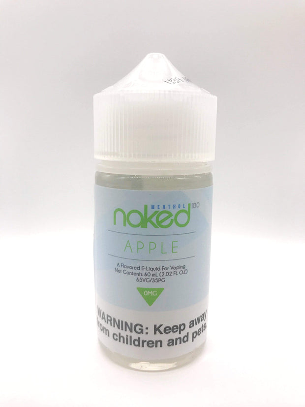 Smoke Station Juice Apple Naked100 Sub-Ohm E-Juice - 60ml