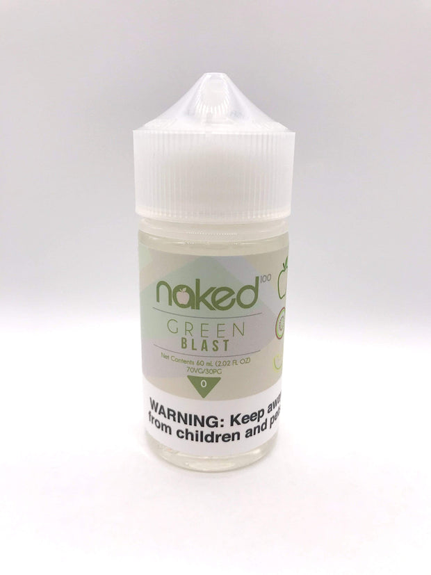 Smoke Station Juice Green Blast / Melon Kiwi Naked100 Sub-Ohm E-Juice - 60ml