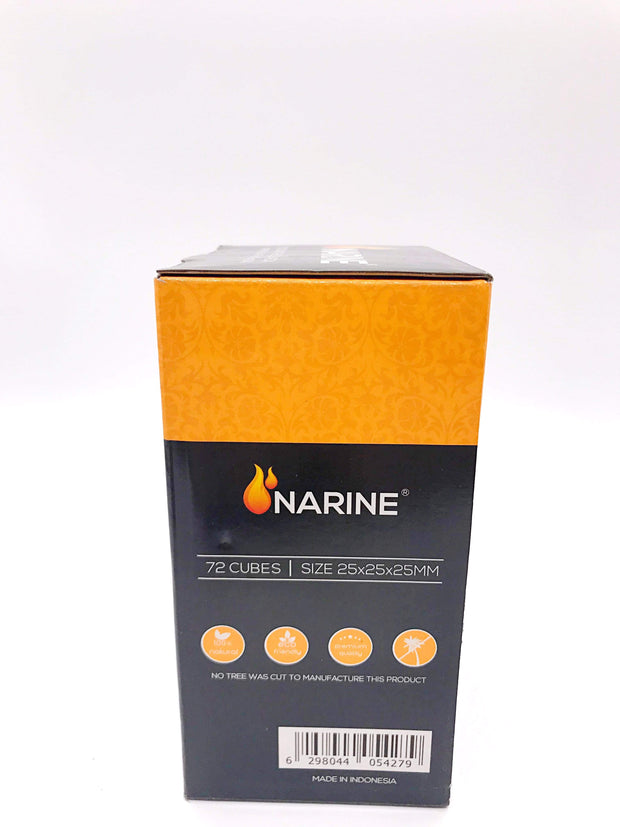 Smoke Station Hookah 25mm Narine Natural Coconut Charcoal