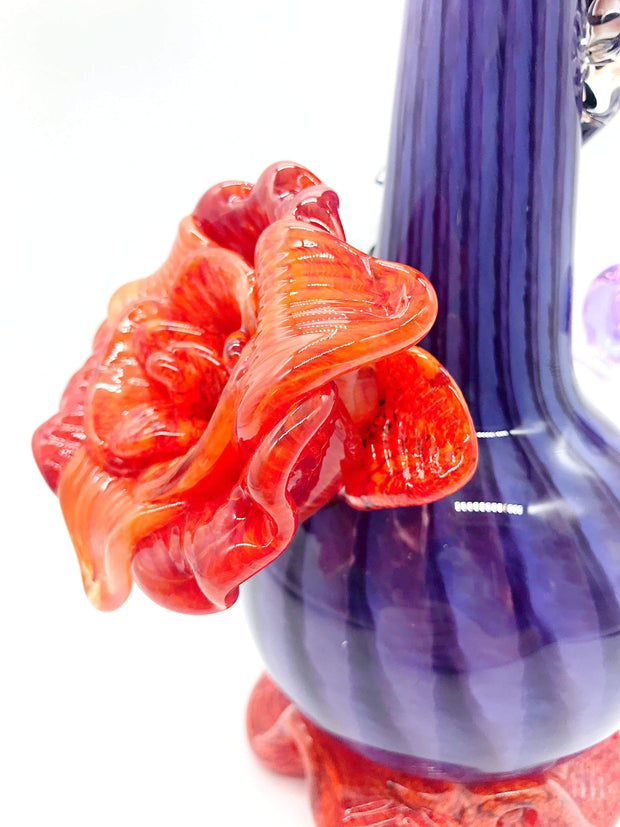 Smoke Station Water Pipe Noble Glass Flower Collection American Water Pipes