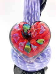 Smoke Station Water Pipe Noble Glass Heart Collection American Water Pipes