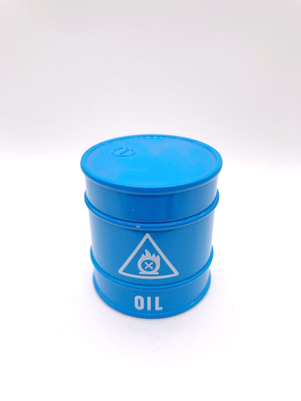 Smoke Station Accessories Oil Barrel Novelty Grinder