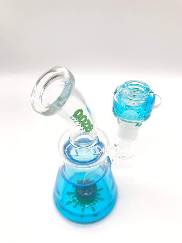 Smoke Station Water Pipe Ooze Freezable Glycerin Rig