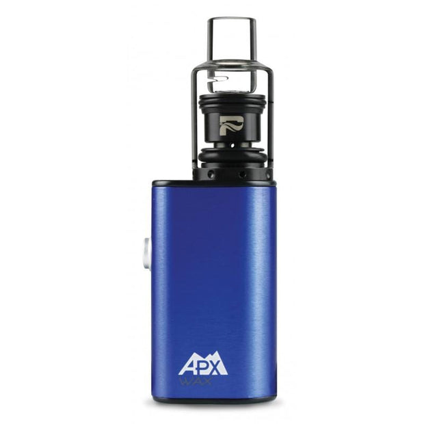 Smoke Station Vape Anodized Blue Pulsar APX Wax Portable Concentrate Vape