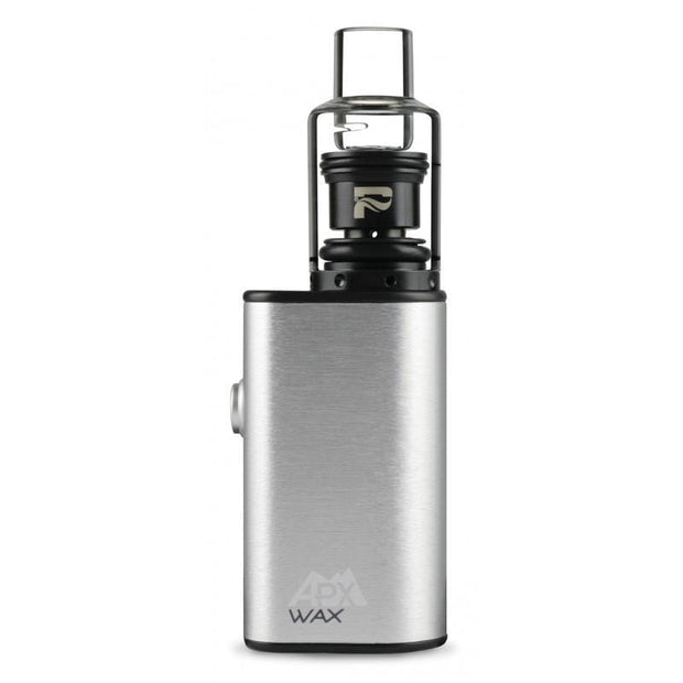 Smoke Station Vape Anodized Silver Pulsar APX Wax Portable Concentrate Vape