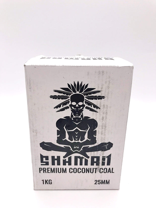 Smoke Station Hookah 25mm Shaman Natural Coconut Charcoal