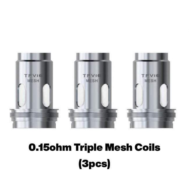 Smoke Station Accessories 0.15ohm Triple Mesh Coils Smok TFV16 TRIPPLE MESH COIL