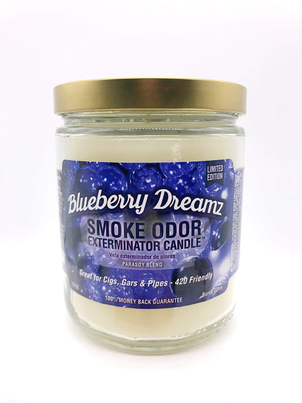 Smoke Station Accessories Blueberry Dreamz Smoke Exterminator Candle