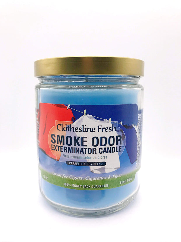 Smoke Station Accessories Clothesline Fresh Smoke Exterminator Candle