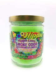 Smoke Station Accessories Hippie Love Smoke Exterminator Candle