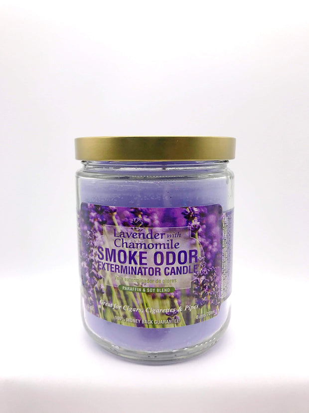 Smoke Station Accessories Lavender With Chamomile Smoke Exterminator Candle