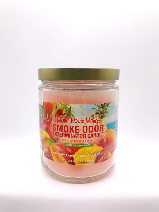 Smoke Station Accessories Maui Wowie Mango Smoke Exterminator Candle