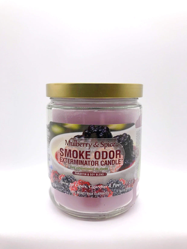 Smoke Station Accessories Mulberry & Spice Smoke Exterminator Candle