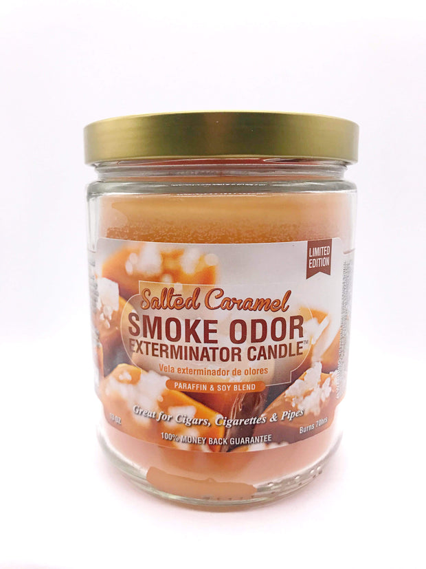 Smoke Station Accessories Salted Caramel Smoke Exterminator Candle