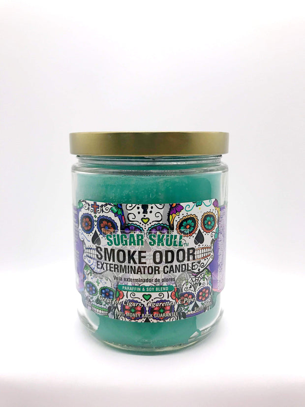 Smoke Station Accessories Sugar Skull Smoke Exterminator Candle