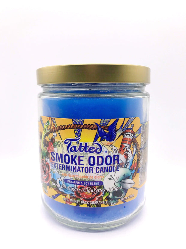 Smoke Station Accessories Tatted Smoke Exterminator Candle
