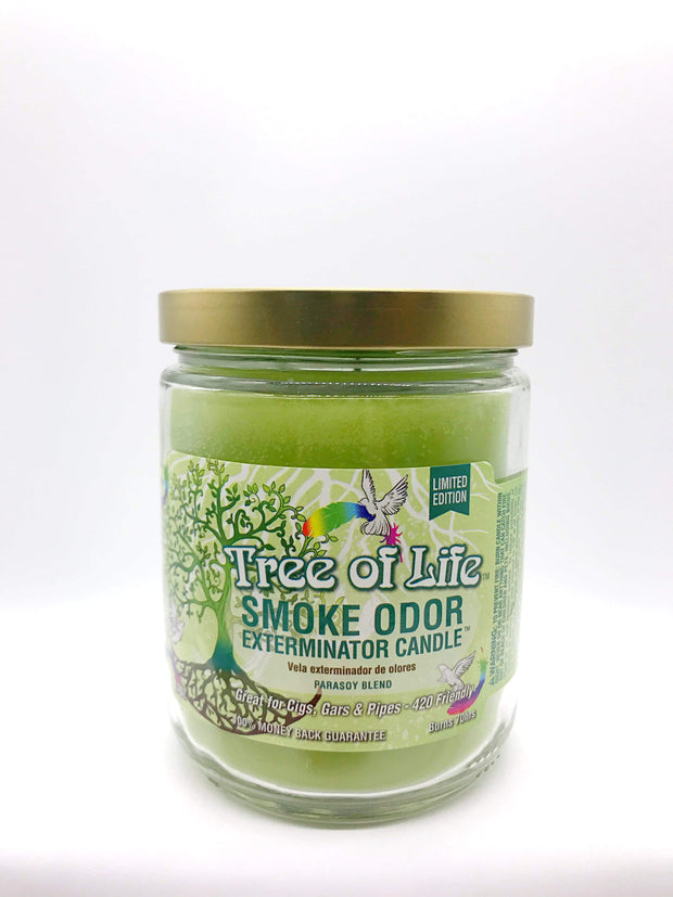 Smoke Station Accessories Tree Of Life Smoke Exterminator Candle