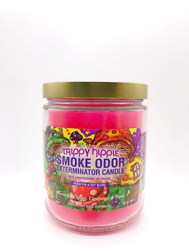 Smoke Station Accessories Trippy Hippie Smoke Exterminator Candle
