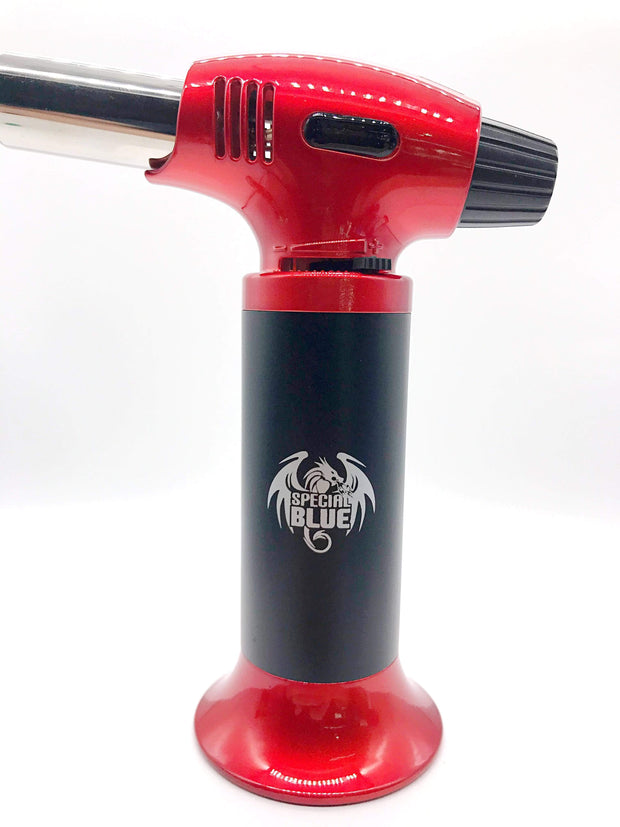 "Smoke Station Accessories Special Blue Butane ""Inferno"" Torch"