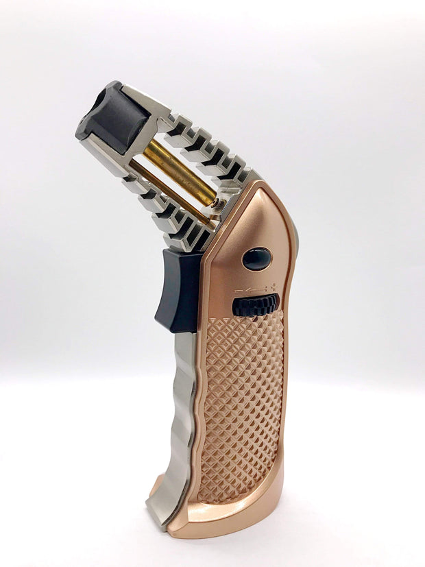 "Smoke Station Accessories Gold Special Blue ""Full Metal"" Butane Torch"