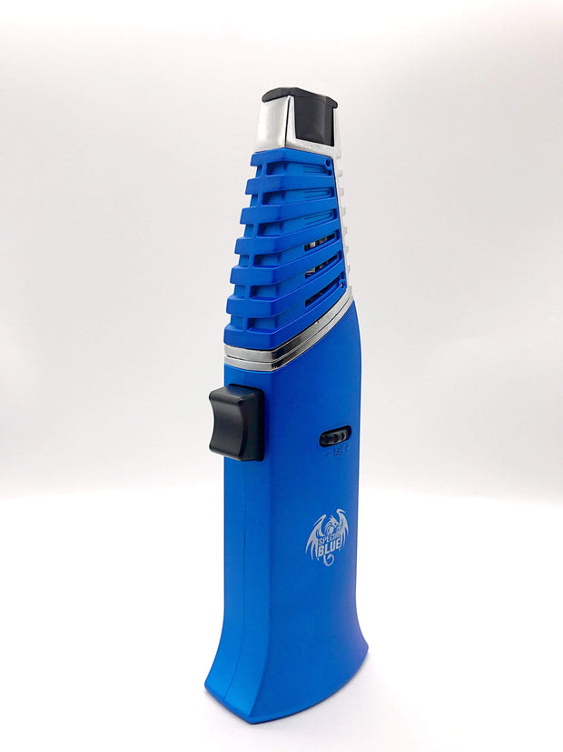 "Smoke Station Accessories Special Blue ""Transformer"" Butane Torch"