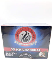 Smoke Station Hookah 100 Tablets (Box) Starbuzz Coconut Shell Quick-Lighting Charcoal