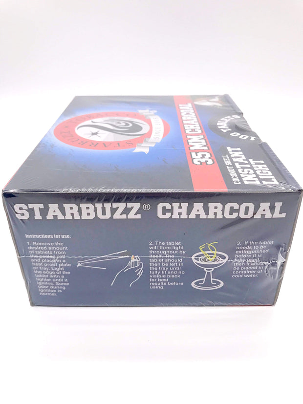Smoke Station Hookah Starbuzz Coconut Shell Quick-Lighting Charcoal