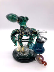 Smoke Station Water Pipe Tattoo Glass Thick Octopus Banger Hanger