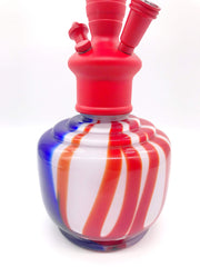 "Smoke Station Hookah Red-White-Blue ""The Current"" Hookah by Vapor Hookahs"