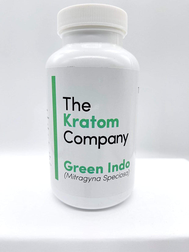Smoke Station Kratom 150 Caps / Green Indo The Kratom Company Premium Kratom Capsules 150 and 75
