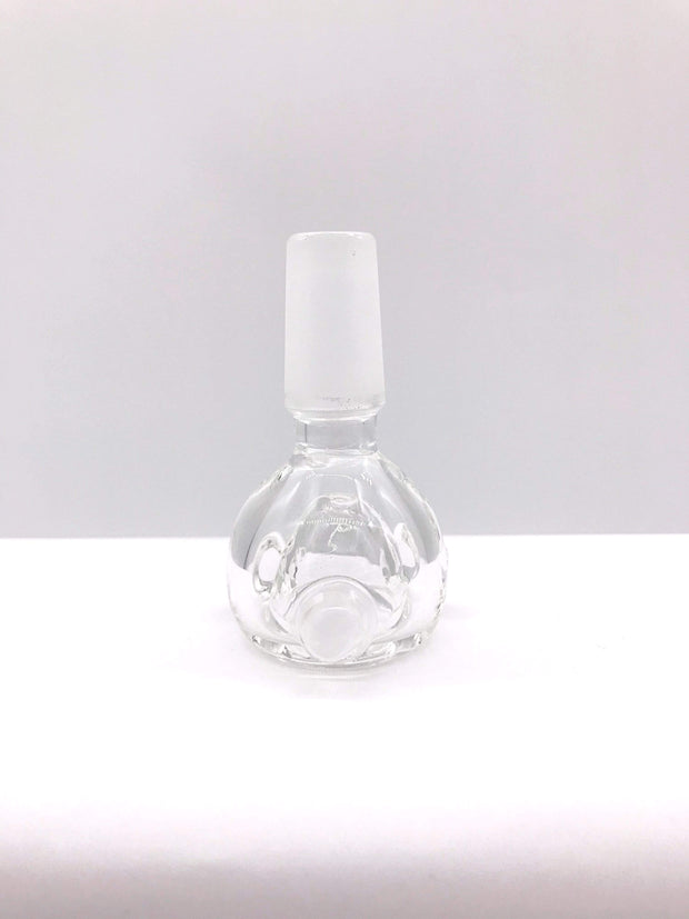 Smoke Station Waterpipe Bowl Thick Clear Waterpipe Bowl - 14mm