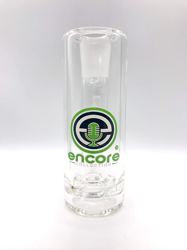 Smoke Station Ash Catchers Green Thick Encore tornado perc ash catcher 14mm 90° joint