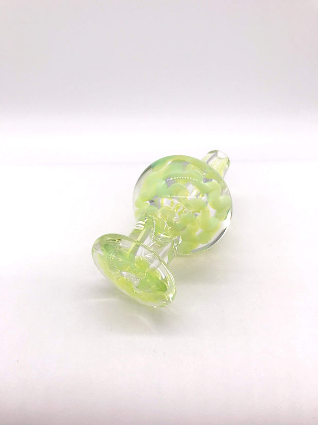 Smoke Station Carb Cap Teal Thick Green Slyme Carb Cap