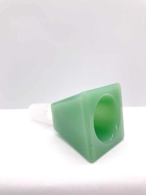 Smoke Station Waterpipe Bowl Thick Square-Cut Waterpipe Bowl - 14mm