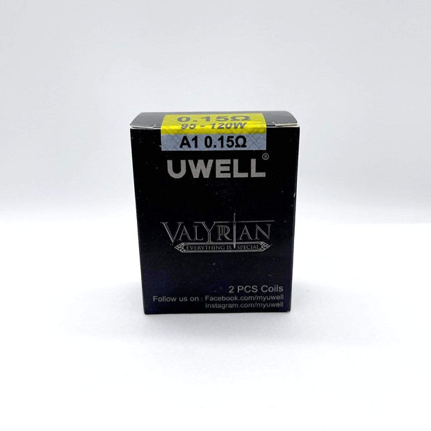 Smoke Station Accessories 0.15Ω 95-120W A1 UWELL VALYRIAN II 2 REPLACEMENT COILS