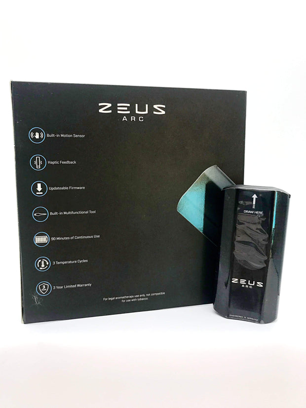 Smoke Station Vape Black Zeus Arc Dry Herb Vaporizer (Regular)