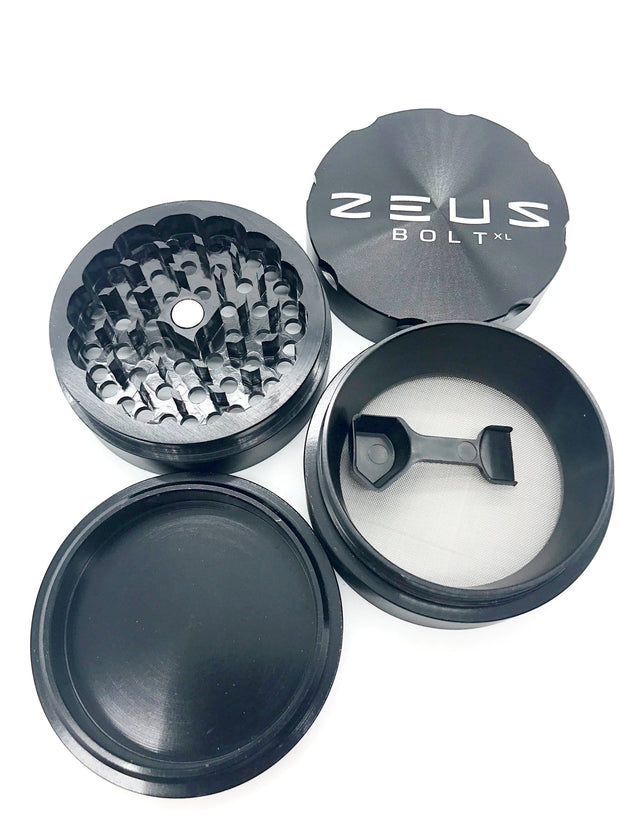 Smoke Station Accessories Zeus Bolt Anodized Aluminum Precision Grinder