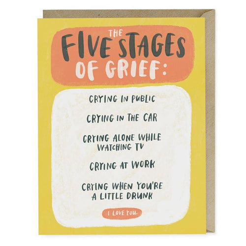 Five Stages Empathy  Card