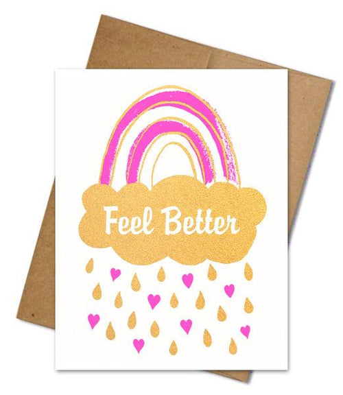 Feel Better Rainbow Card