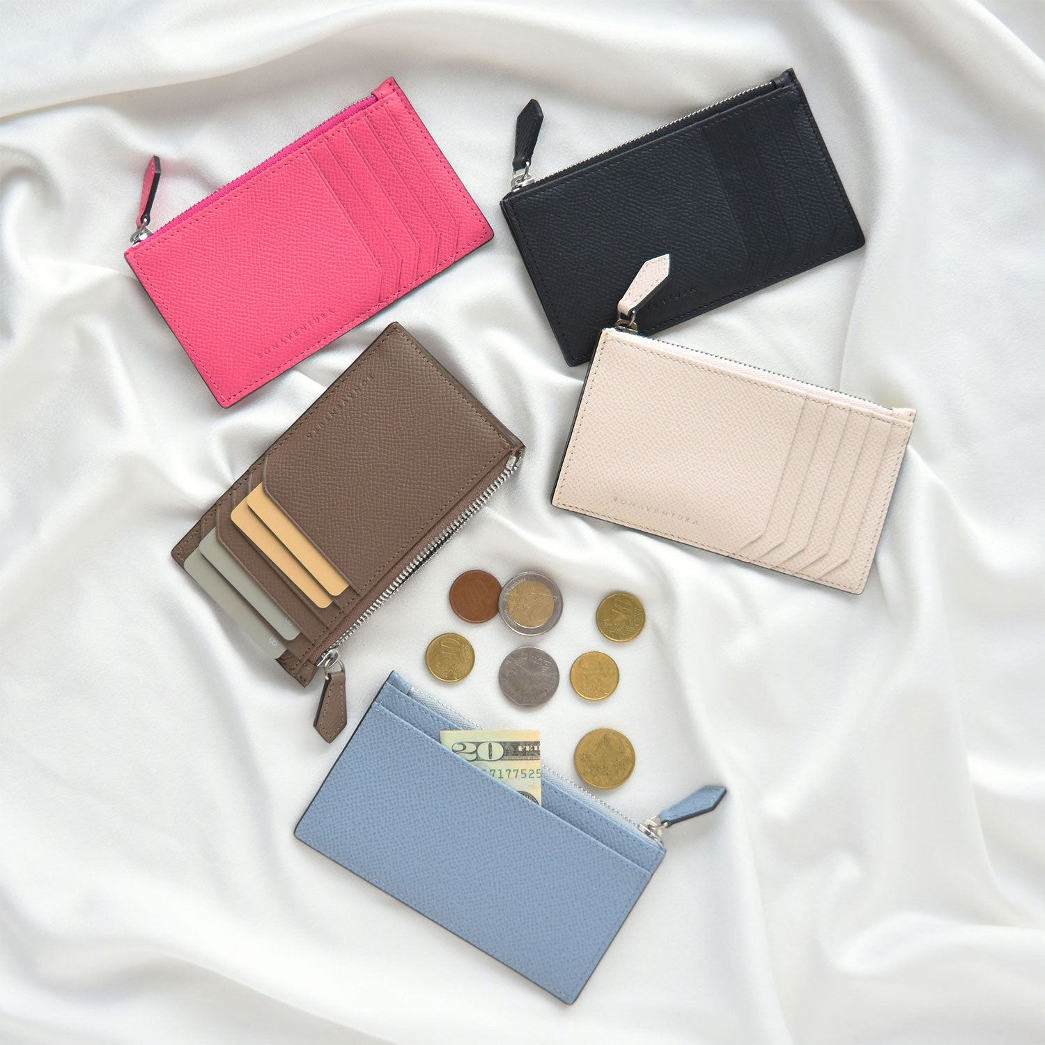 Mini zip wallet noblessa