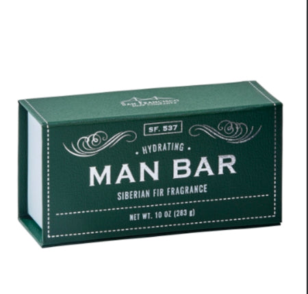 Hydrating Siberian Fir Man Bar - Shopmuddypearl