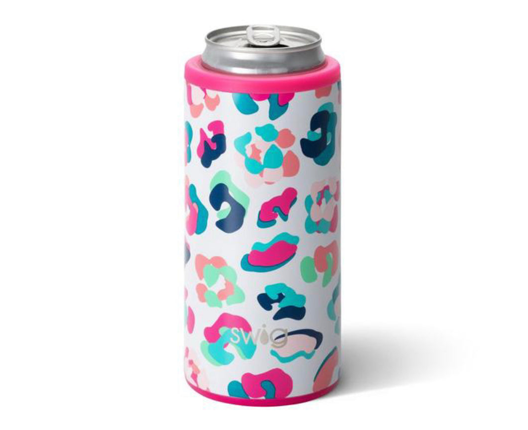 Swig 12oz Skinny Can Cooler - Party Animal - The Muddy Pearl