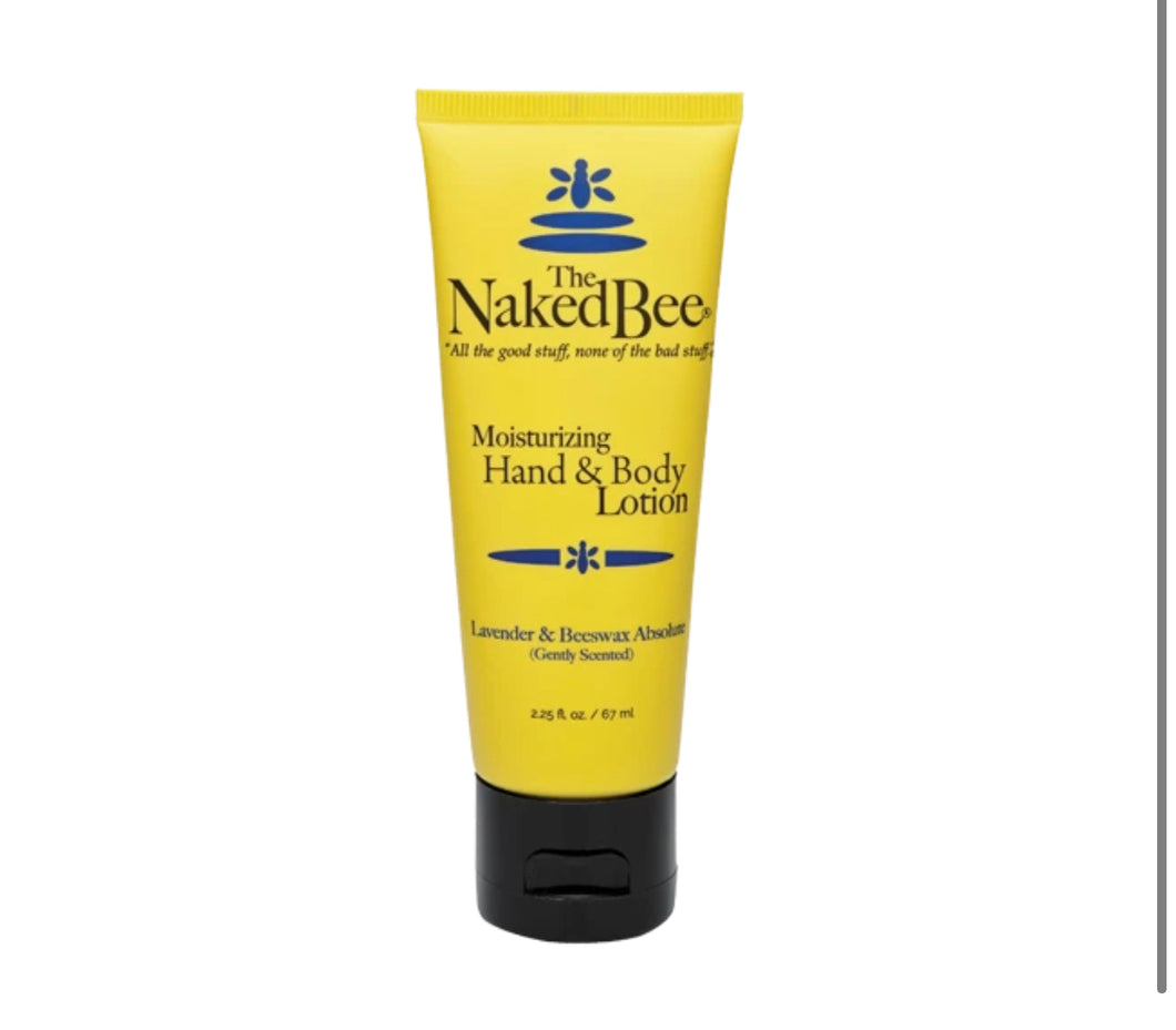 Naked Bee Lotion - Lavender - The Muddy Pearl